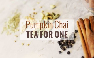 Pumpkin Chi Tea Recipe